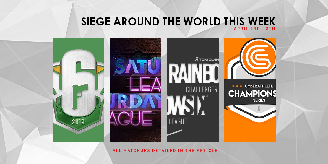 Siege Around the World this Week - April 2-8th