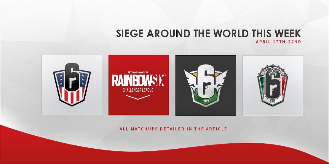 Siege Around the World this Week - April 17-23rd