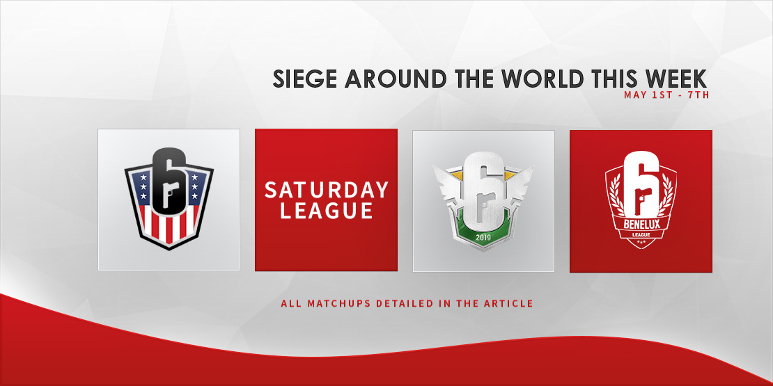 Siege Around the World this Week - April 30-May 6th