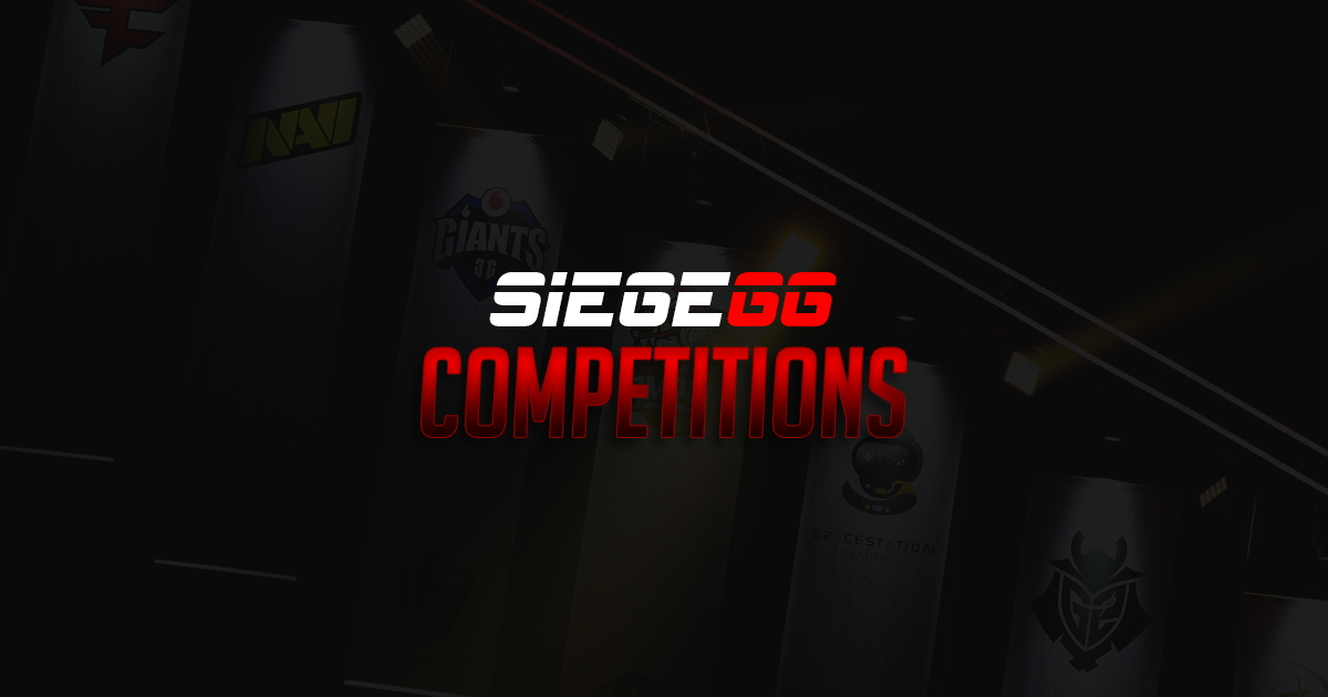 SiegeGG Feature Launch: Competitions