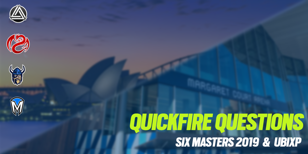 Quickfire Questions ANZ -- Six Masters and UbiXP