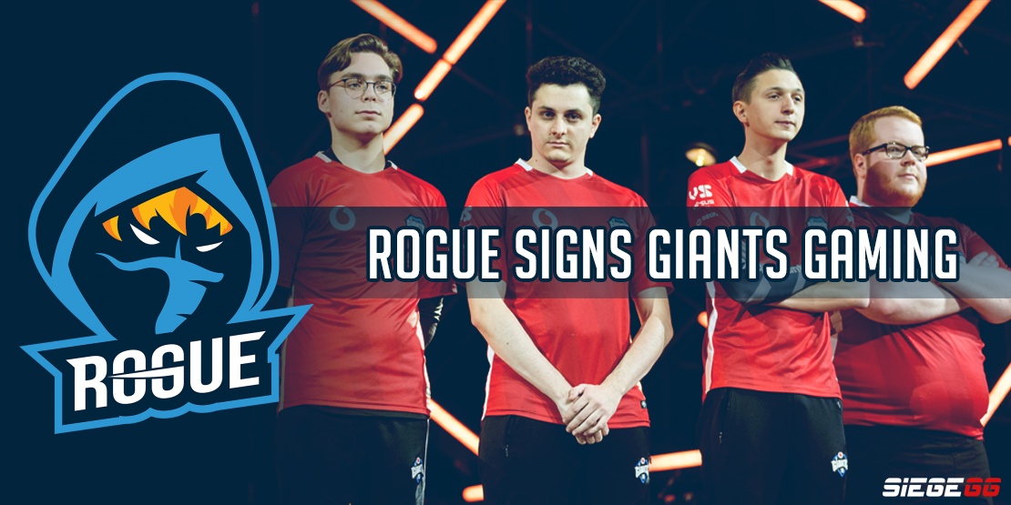 Rogue Acquires Giants Gaming Roster, ripz Added