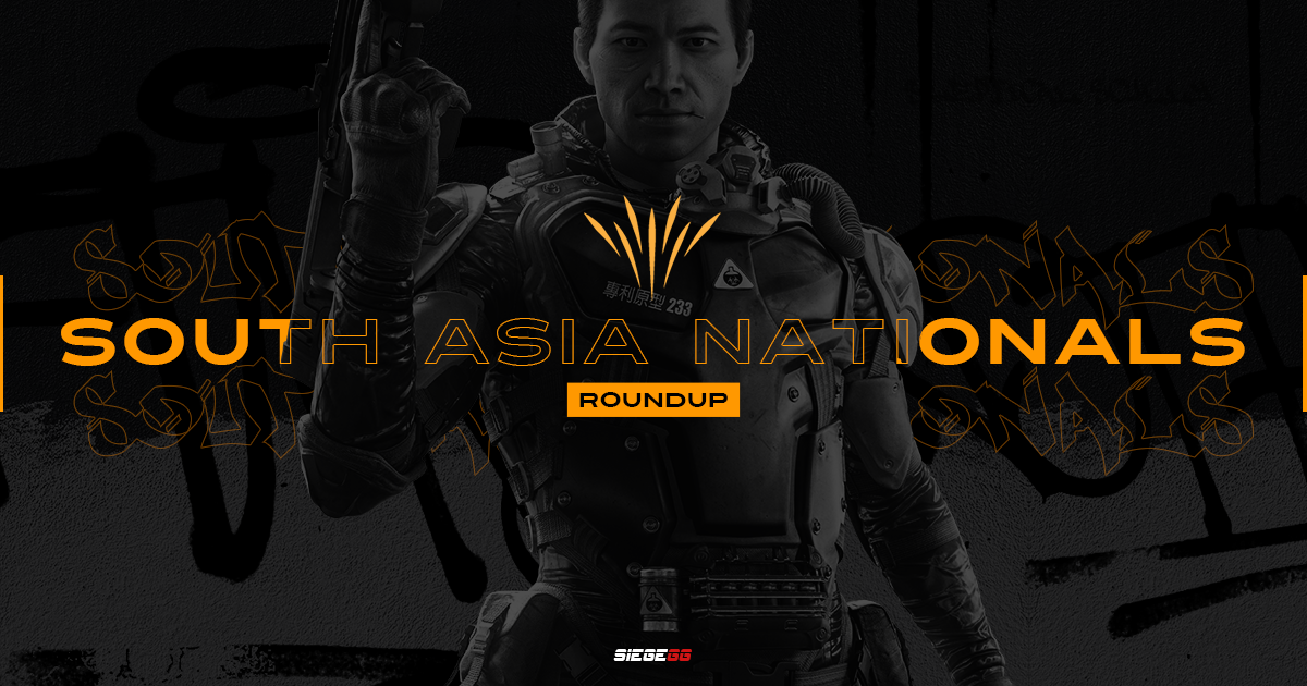 South Asia Nationals Stage 1 - MercenarieZ Crowned Regional Champions