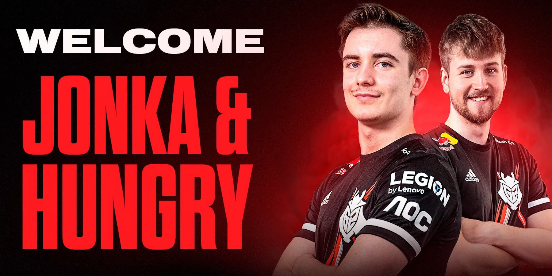 G2 Esports Signs Hungry and Jonka, Kantoraketti and UUNO Dropped from Playing Roster
