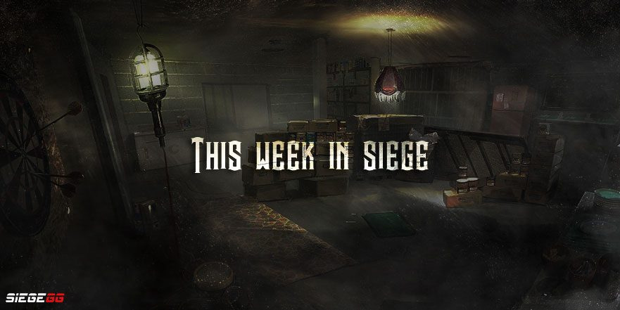 In Case You Missed It: This Week in Siege - March 31st