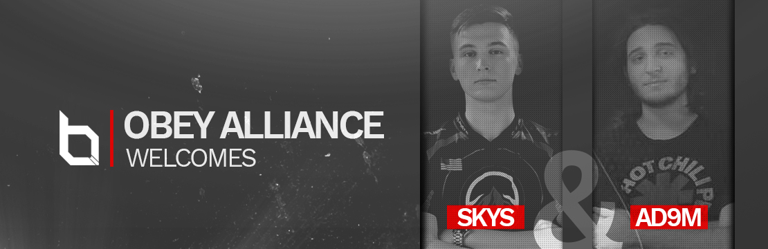 Skys and Adam join Obey Alliance