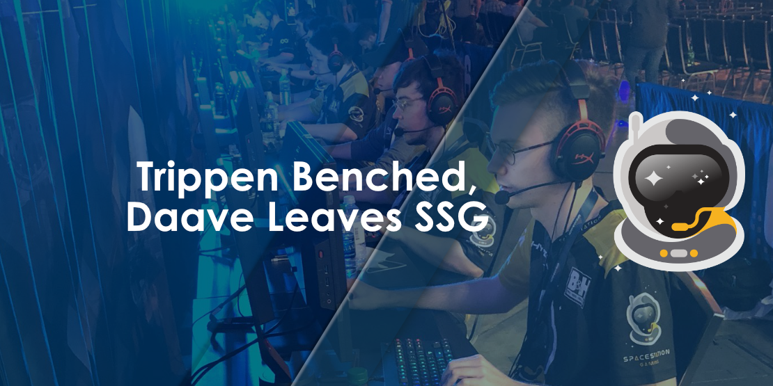 Trippen Benched, Daave Leaves Spacestation Gaming