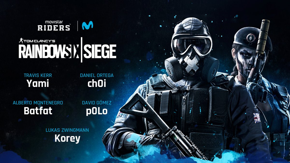 Movistar Riders Signs their First Siege Roster