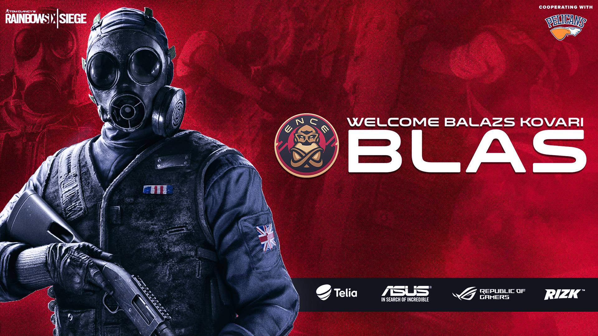 Blas Joins ENCE, Completing the Roster