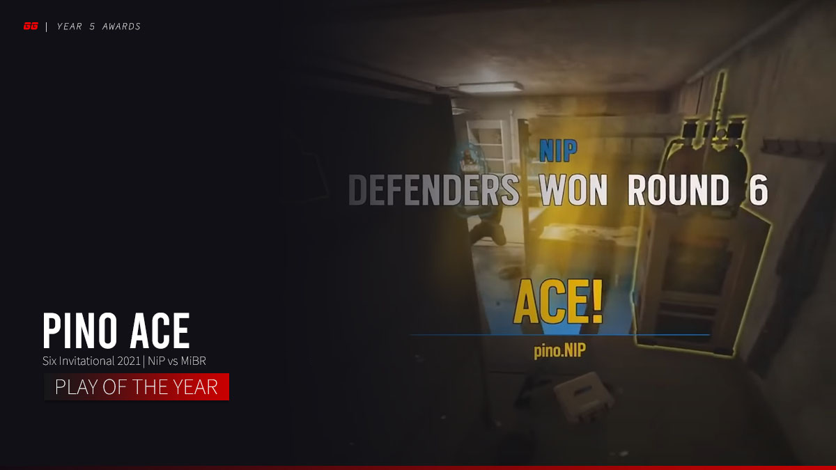 Year 5 Play of the Year: pino's 2v5 Ace Clutch