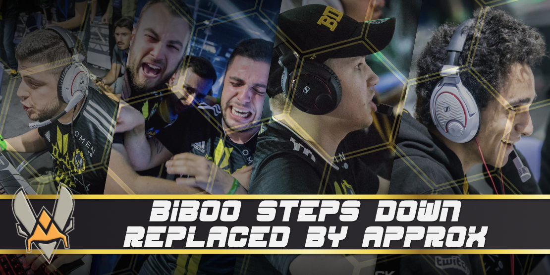 BiBoo Steps Down, Replaced by aPPROX