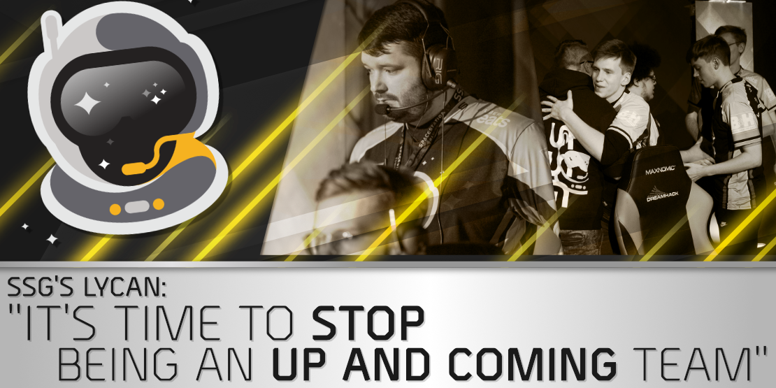 """SSG's Lycan: """"It's time to stop being an up and coming team"""""""