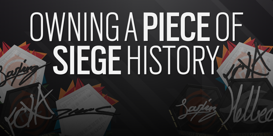 Owning a Piece of Siege History
